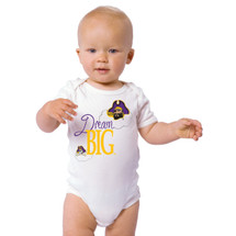 East Carolina Pirates Dream Big Baby Onesie