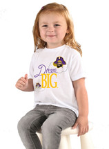 East Carolina Pirates Dream Big Infant/Toddler T-Shirt
