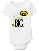 Iowa Hawkeyes Dream Big Baby Bodysuit
