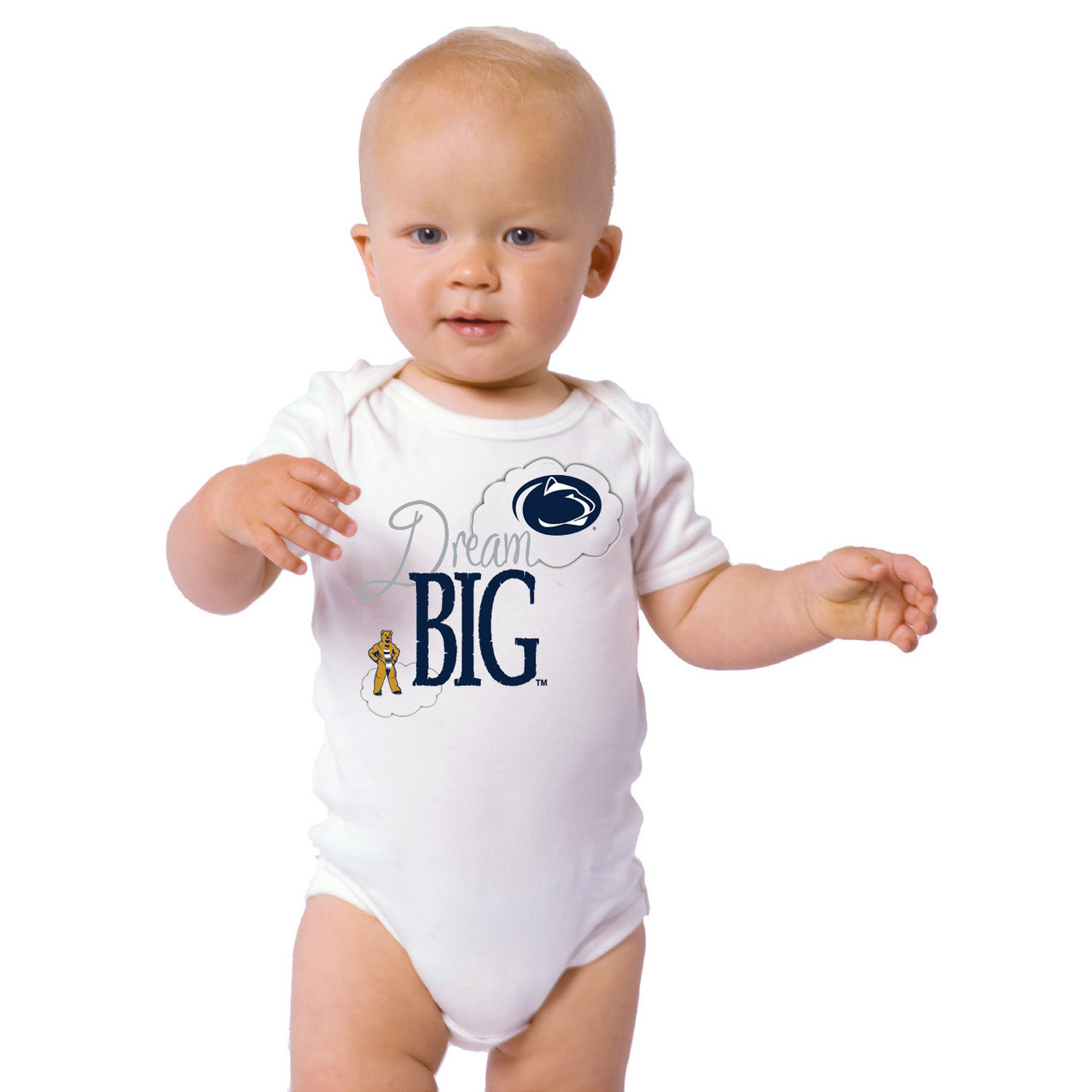 3319a3a84 Penn State Nittany Lions Dream Big Baby Onesie. Loading zoom