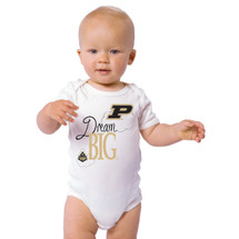 Purdue Boilermakers Dream Big Baby Bodysuit