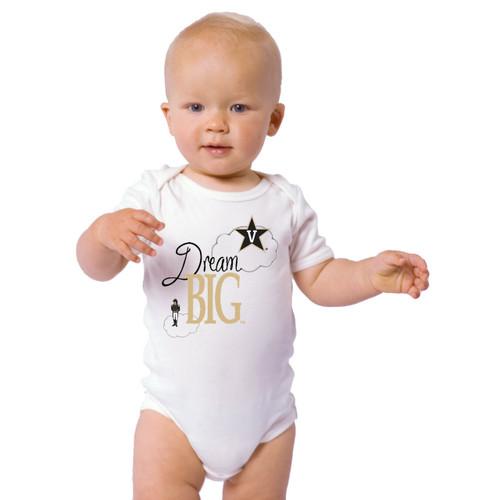 Vanderbilt Commodores Dream Big Baby Onesie
