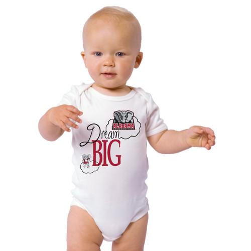 Alabama Crimson Tide Dream Big Baby Onesie