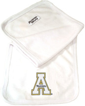 Appalachian State Mountaineers Baby Terry Burp Cloth