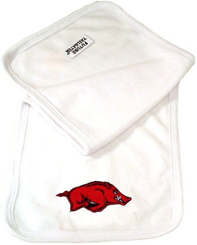 Arkansas Razorbacks Baby Terry Burp Cloth