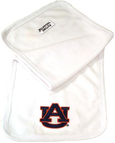 Auburn Tigers Baby Terry Burp Cloth