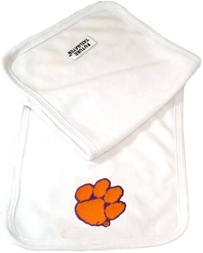 Clemson Tigers Baby Terry Burp Cloth