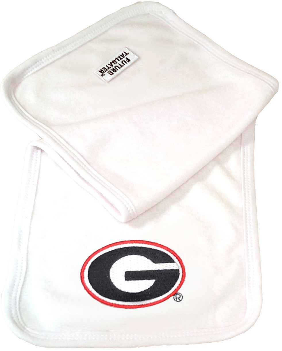 uk availability c119e b88a5 Georgia Bulldogs Baby Terry Burp Cloth
