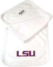 LSU Tigers Baby Terry Burp Cloth