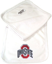 Ohio State Buckeyes Baby Terry Burp Cloth