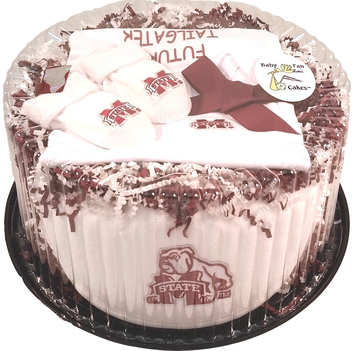 Mississippi State Bulldogs Baby Clothing Clothing Gift Set