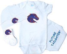 Boise State Broncos Homecoming 3 Piece Baby Gift Set