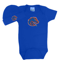 Boise State Broncos Baby Bodysuit and Cap Set