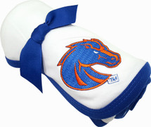 Boise State Broncos Baby Receiving Blanket