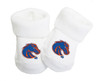 Boise State Broncos Baby Toe Booties
