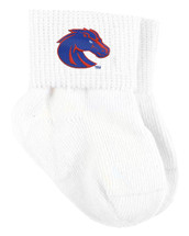 Boise State Broncos Baby Sock Booties