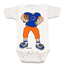 Boise State Broncos Heads Up! Football Baby Onesie