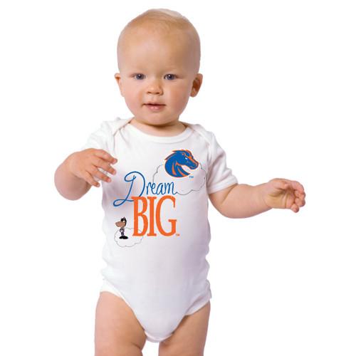 Boise State Broncos Dream Big Baby Onesie