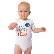 Boise State Broncos Dream Big Baby Onesie