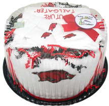Arkansas Razorbacks Baby Fan Cake Clothing Gift Set