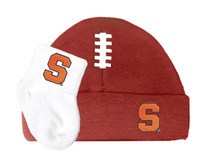 Syracuse Orange Baby Football Cap and Socks Set