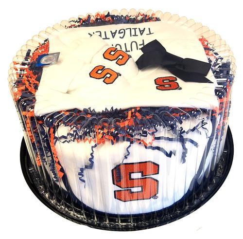 Syracuse Orange Baby Fan Cake Clothing Gift Set