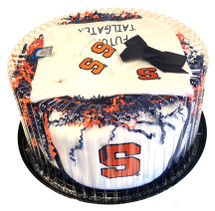 Syracuse Orange Baby Fan Cake Clothing Gift Set