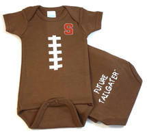 Syracuse Orange Future Tailgater Football Baby Onesie