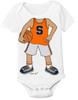Syracuse Orange Heads Up! Basketball Baby Onesie