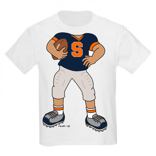 Syracuse Orange Heads Up! Football Infant/Toddler T-Shirt