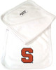 Syracuse Orange Baby Terry Burp Cloth