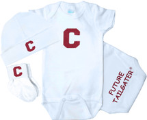 Colgate Raiders Homecoming 3 Piece Baby Gift Set