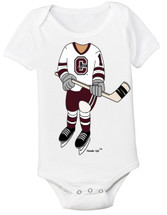 Colgate Raiders Heads Up! Hockey Baby Onesie