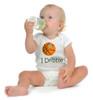 "Cal Poly Mustangs Basketball ""I Dribble"" Baby Onesie"