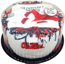 Mississippi Ole Miss Rebels Baby Fan Cake Clothing Gift Set