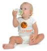 "Syracuse Orange Basketball ""I Dribble"" Baby Onesie"