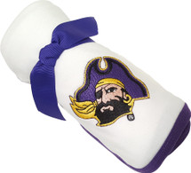 East Carolina Pirates Baby Receiving Blanket