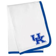 Kentucky Wildcats Baby Receiving Blanket