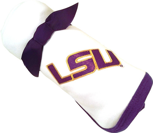 LSU Tigers Baby Receiving Blanket