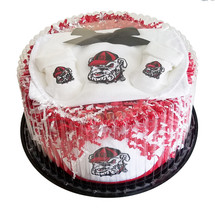 Georgia Bulldogs Baby Fan Cake Gift Set