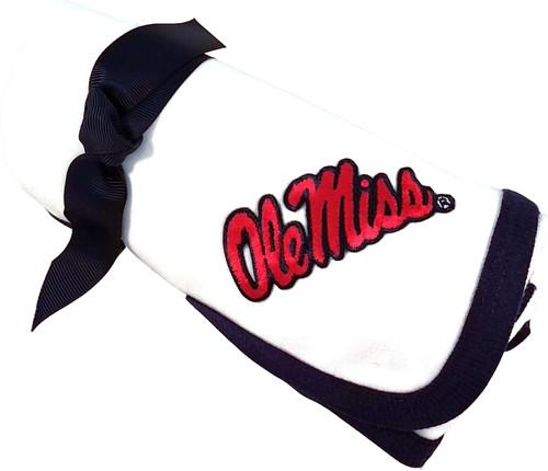 Mississippi Ole Miss Rebels Baby Receiving Blanket