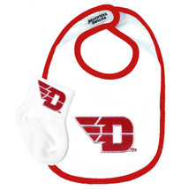 Dayton Flyers Bib and Socks Baby Set