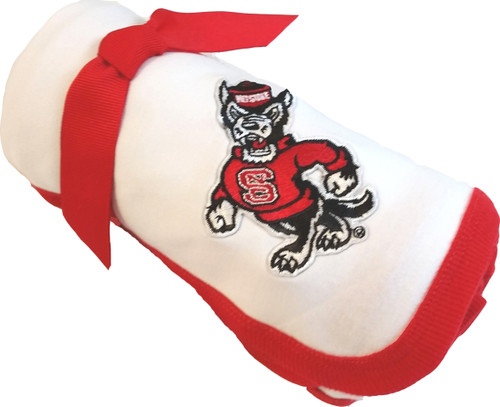 North Carolina State Wolfpack Baby Receiving Blanket