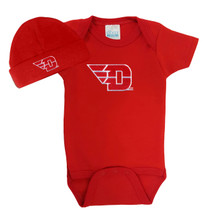 Dayton Flyers Baby Bodysuit and Cap