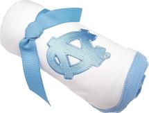North Carolina Tar Heels Baby Receiving Blanket