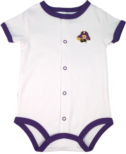 East Carolina Pirates Baby Romper