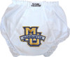 Marquette Golden Eagles Eyelet Baby Diaper Cover