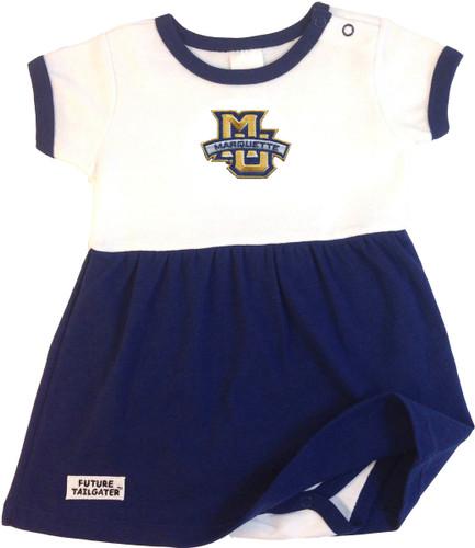 Marquette Golden Eagles Baby Baby Onesie Dress