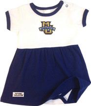 Marquette Golden Eagles Baby Baby Onesie Dress