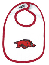 Arkansas Razorbacks 2 Ply Baby Bib